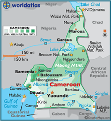 map-of-cameroon